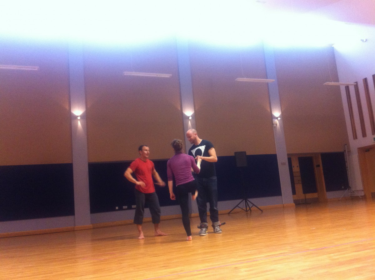 Open Rehearsal with Square Peg Circus