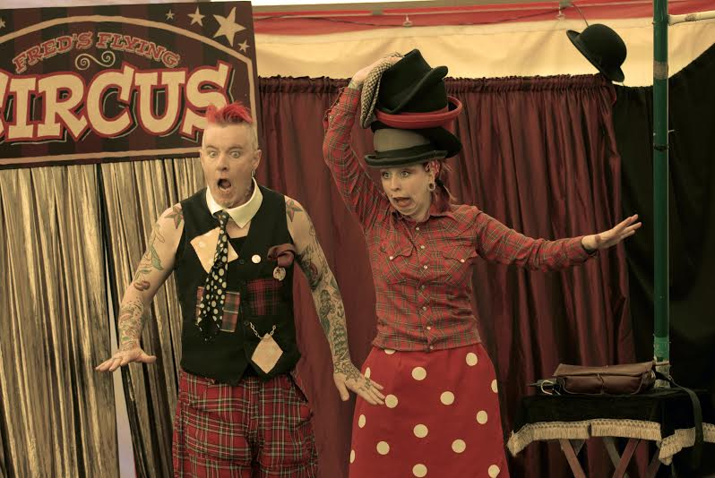 Family Antics – Circus Dad and Daughter on Working Together