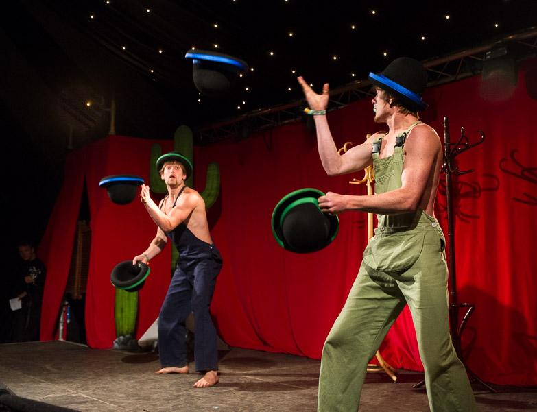 Hot Circus Cabaret at Mavericks (Glastonbury)