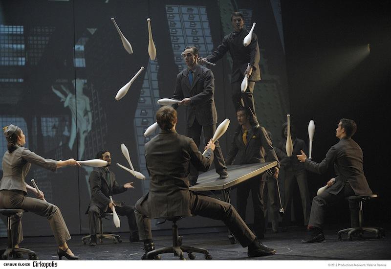 'Cirkopolis', by Cirque Éloize