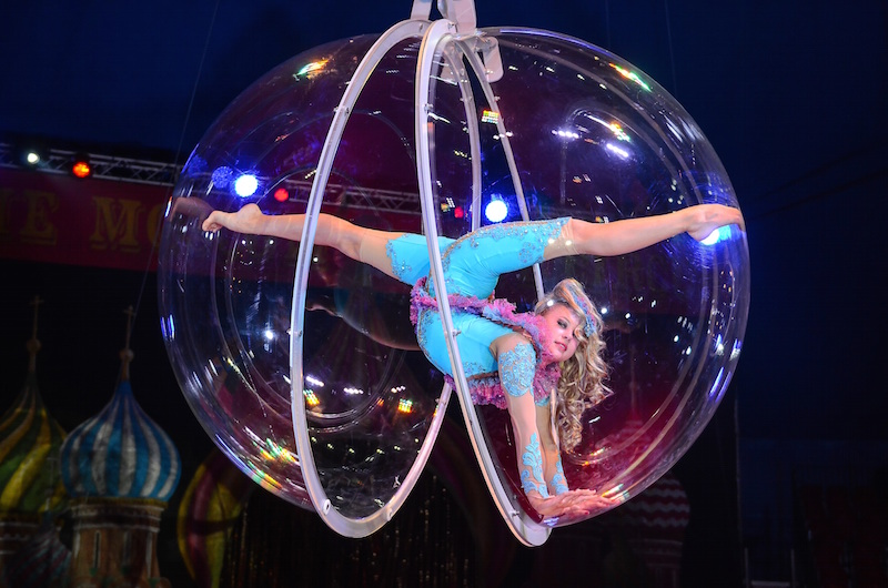 'Zhelaniy', by Moscow State Circus