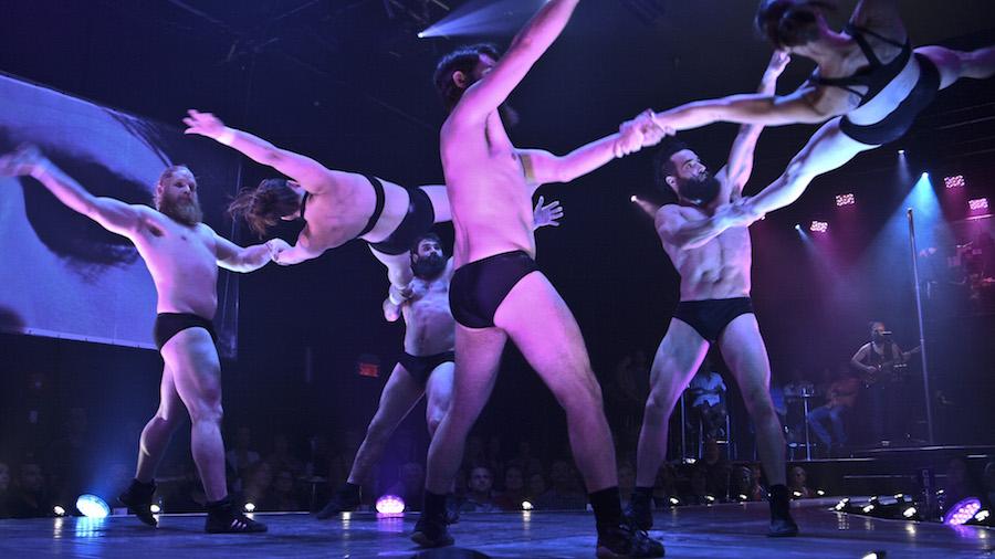 'BARBU: Electro Trad Cabaret', by Cirque Alfonse
