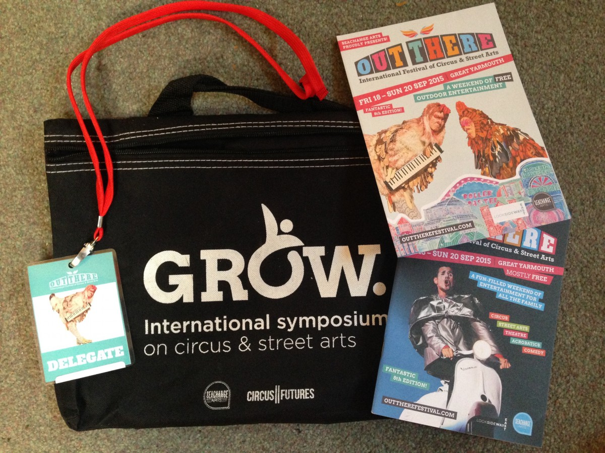GROW International Symposium on Circus and Street Arts