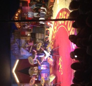 'The Painted Wagon', by Giffords Circus