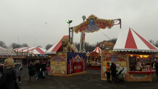 Circus at Hyde Park Winter Wonderland