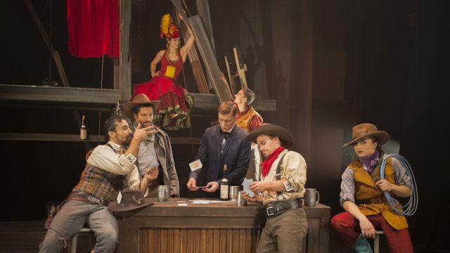 'Saloon', by Cirque Éloize