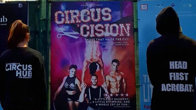'Circus-Cision', by Head First Acrobats