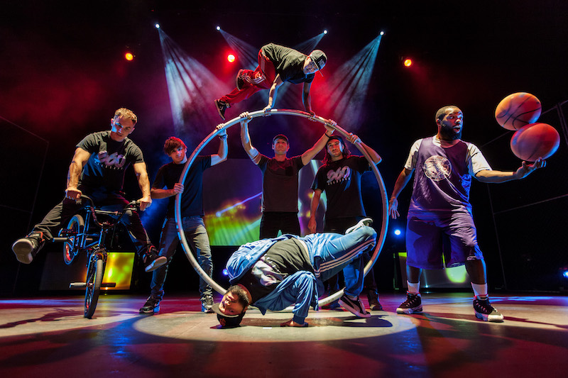 Urban sports circus at Edinburgh Fringe 2019
