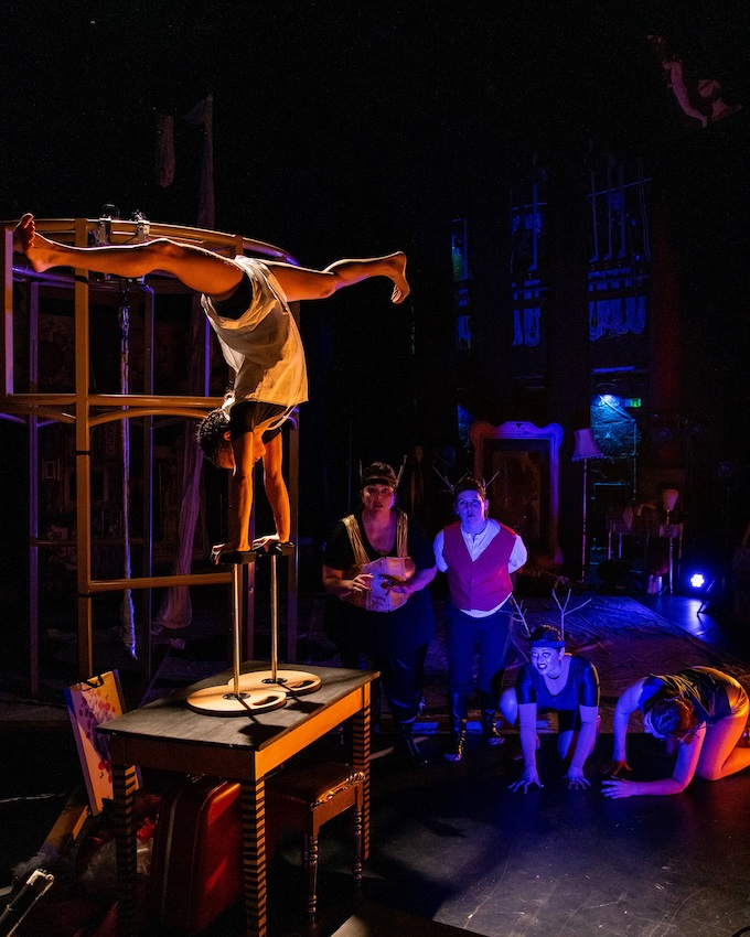 'Angela Carter's The Bloody Chamber', by Proteus Theatre